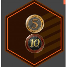 Counter-Strike: Global Offensive CS:GO (With Medals 10/5 Year Veteran)+ Full Access